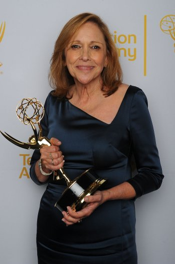 Ann Druyan wins the Emmy for THE COSMOS which she wrote and produced. Hair and Make-up Victor Lomeli