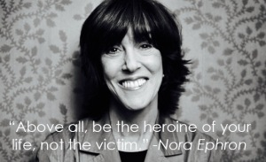 Everything Is Copy a documentary about the life of Nora Ephron tonight at the New York Film Festival